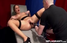 Fist and machine fucking for nasty milf